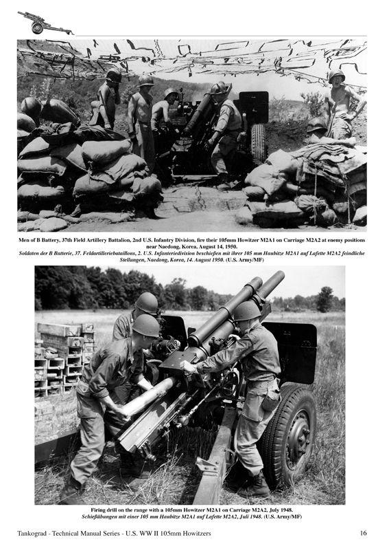 U.S. WW II 105MM HOWITZERS M2A1 & M3 - TANKOGRAD Publishing - Verlag Jochen…