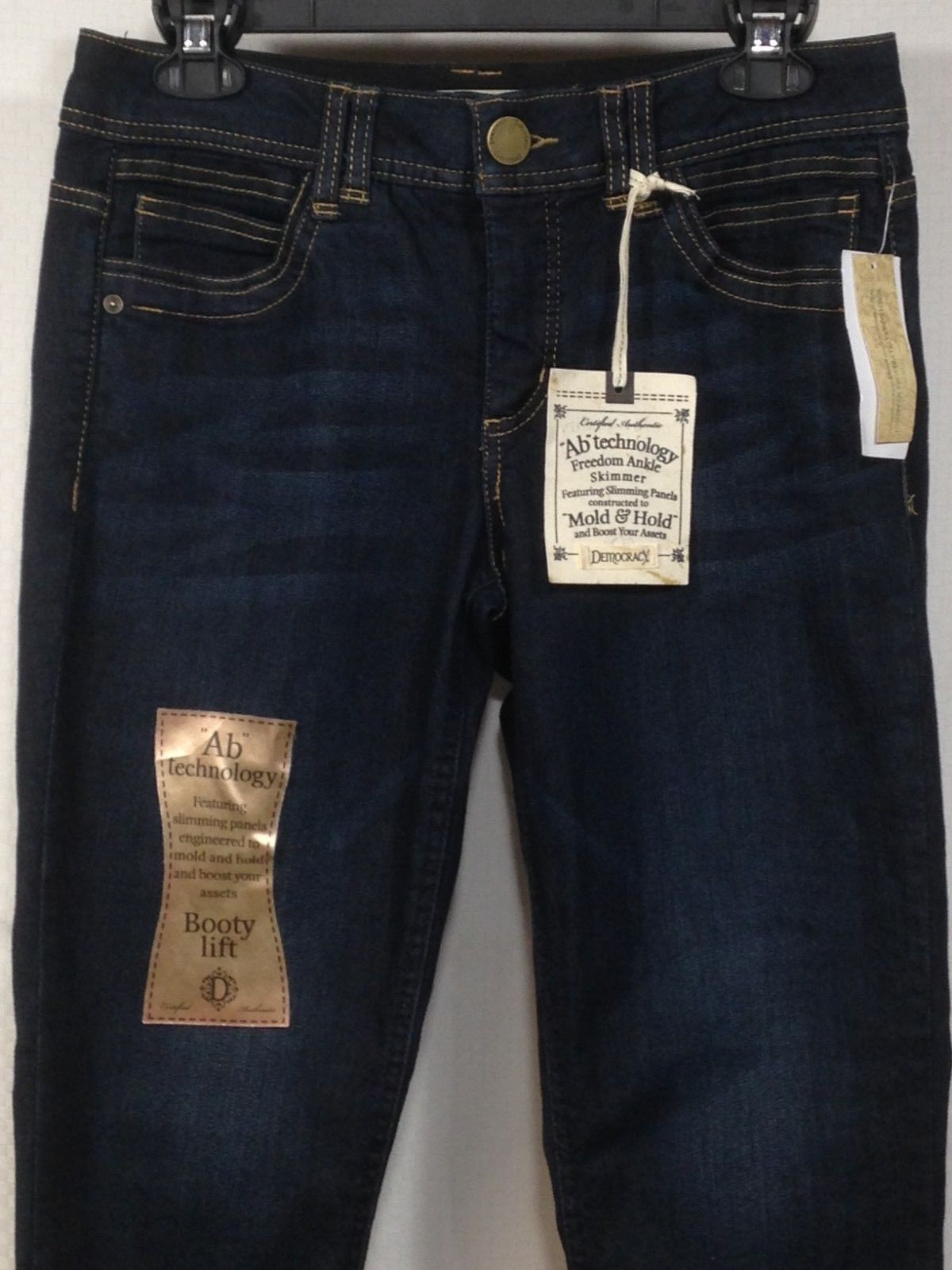 1b4651400b 49.99 | Democracy Ab Technology Booty Lift Mold and Hold Denim Jeans Womens  Size 8 ❤ #democracy #technology #booty #lift #mold #hold #denim #jeans # womens ...