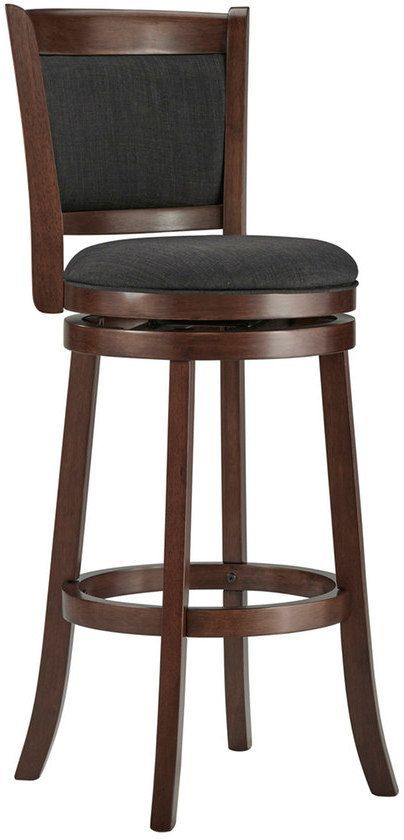 Bar Stool Baby High Chair How To Build A Simple Rocking Homevance Ames 29 In Swivel 2018 Chairs