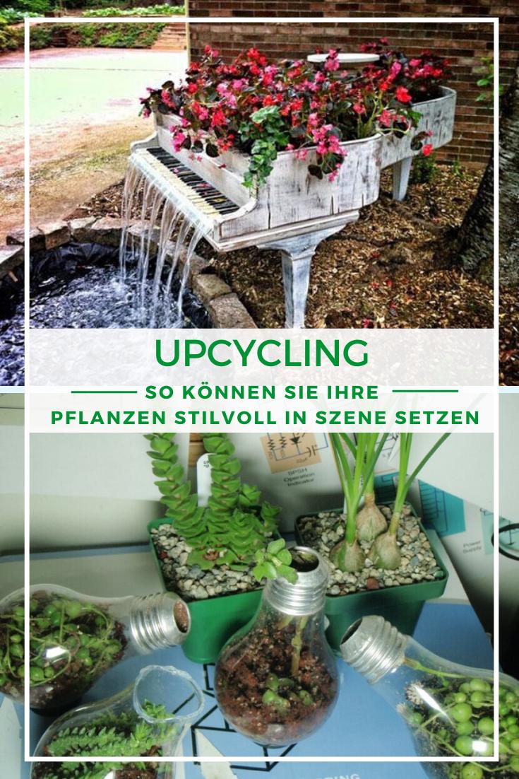 Upcycling 11 Kreative Ideen Fur Ihre Pflanzen Pflanzen Upcycling Upcycling Ideen