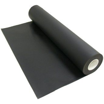 Santoprene Smooth Surface Thermoplastic Sheets And Rolls 1 16 Thick X 36 Width X 12 Length Amazon Com Thermoplastic Rubber Flooring Sheets