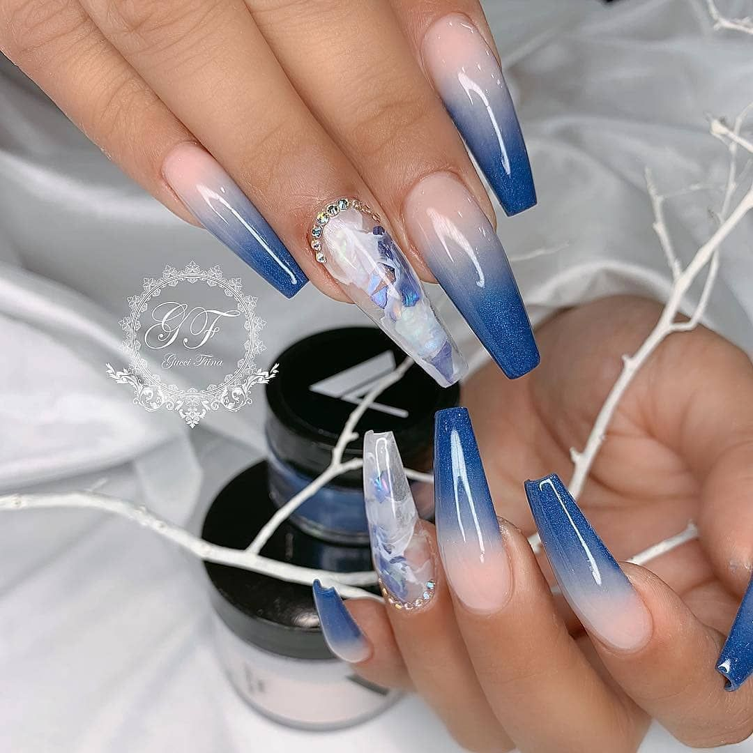 Follow Us Best Nailsclips Follow Us Best Nailsclips Best Nailsclips Nailsfascination Royal Blue Nails Blue Nail Designs Light Blue Nails