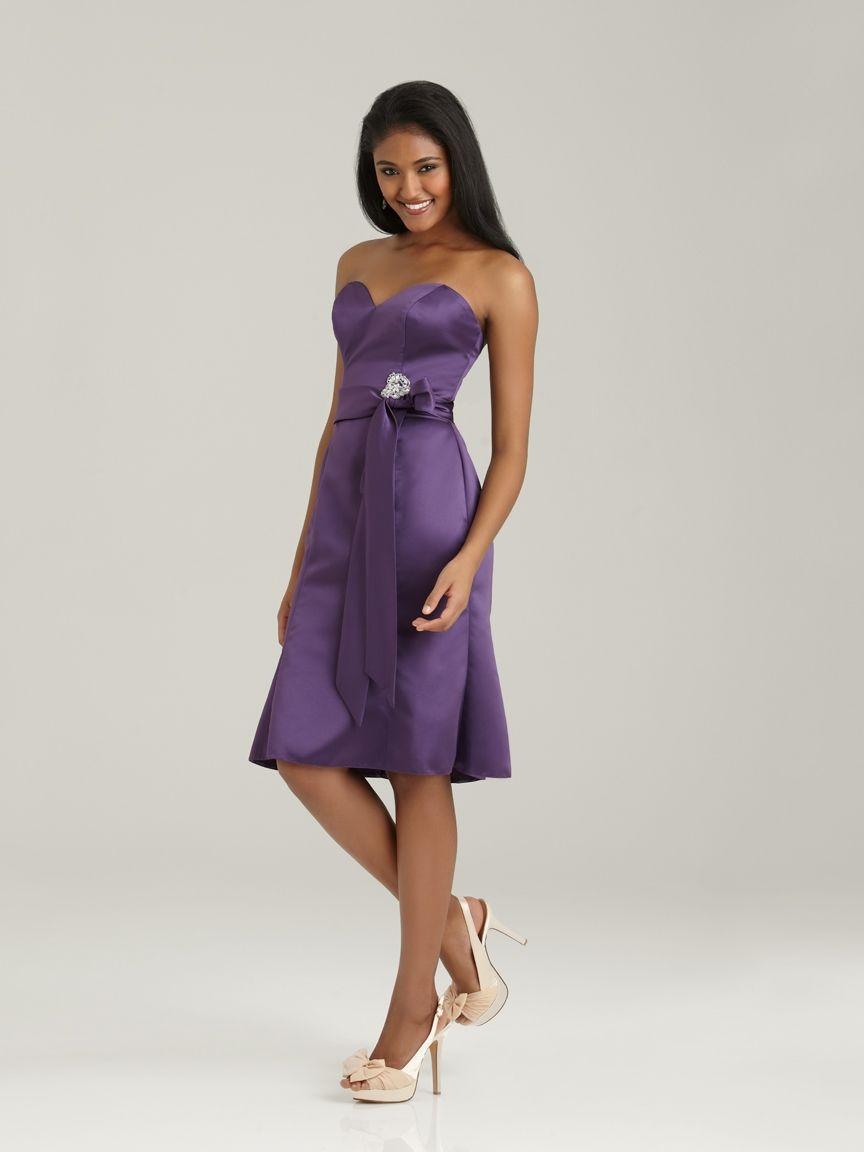 Allure gorgeous in purple good bridesmade dresses wedding