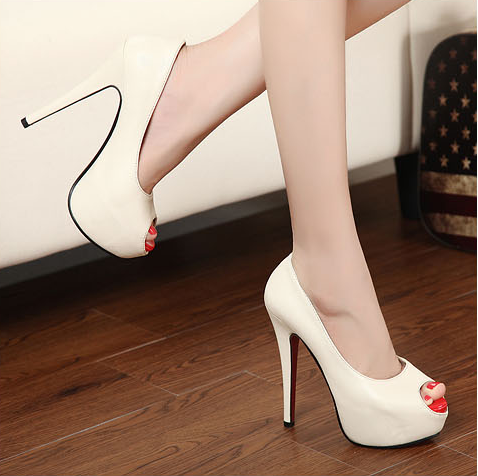 c51f07aba063 2013 New release Black Ostrich skin opentoe pumps. These are already ...