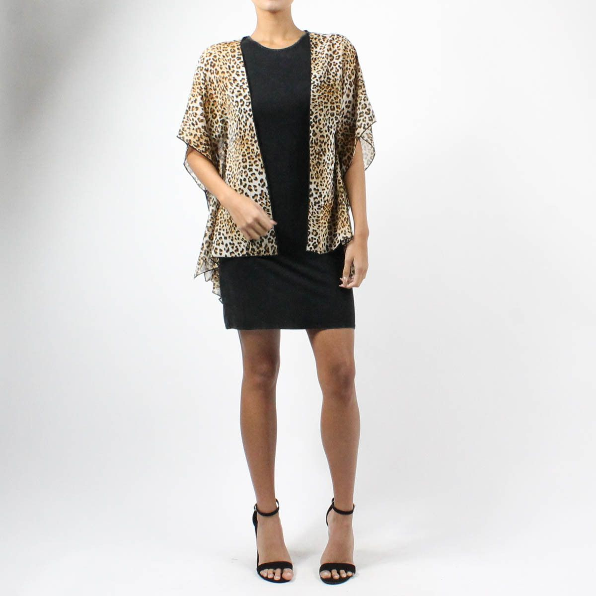 Leopard Chiffon Cardigan | Products | Pinterest | Products ...
