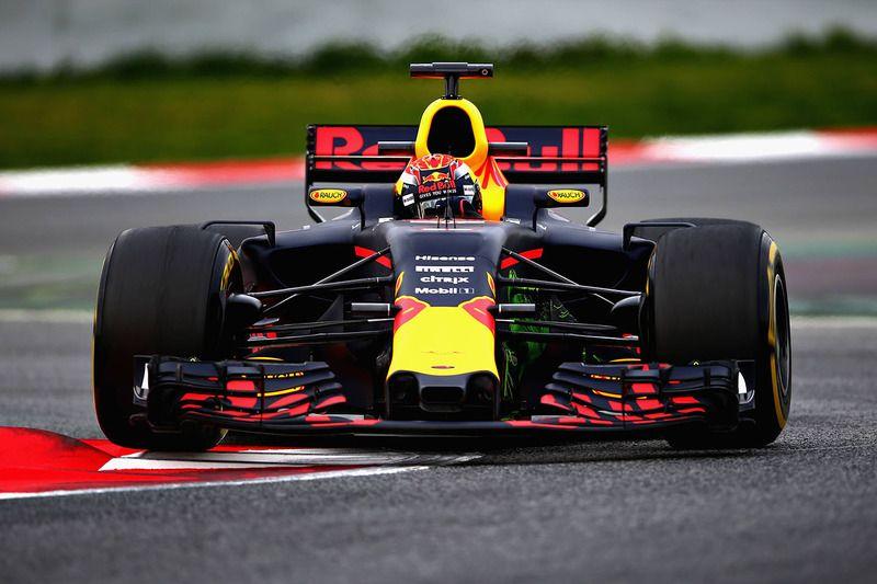 Fotobehang Formule 1.Max Verstappen Red Bull Racing Rb13 Max Verstappen Nieuws