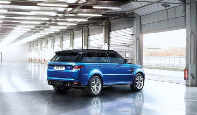 Range Rover Sport SVR. 060 in 4.5 seconds. Range rover