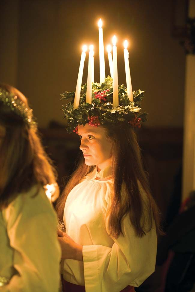 St Lucia Day She Who Brings Light St Lucia Day Santa Lucia Day Lucia Light