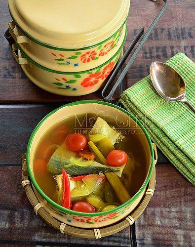 Singgang Ikan Campur Budu Malaysian Food Food Vegetables