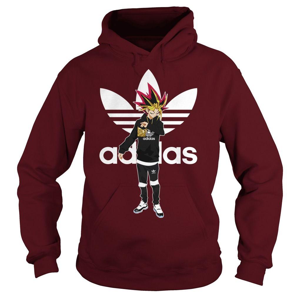 Yu-Gi-Oh adidas hoodie