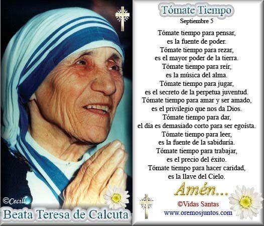 Teresa De Calcuta Frases De La Madre Teresa Madre Teresa