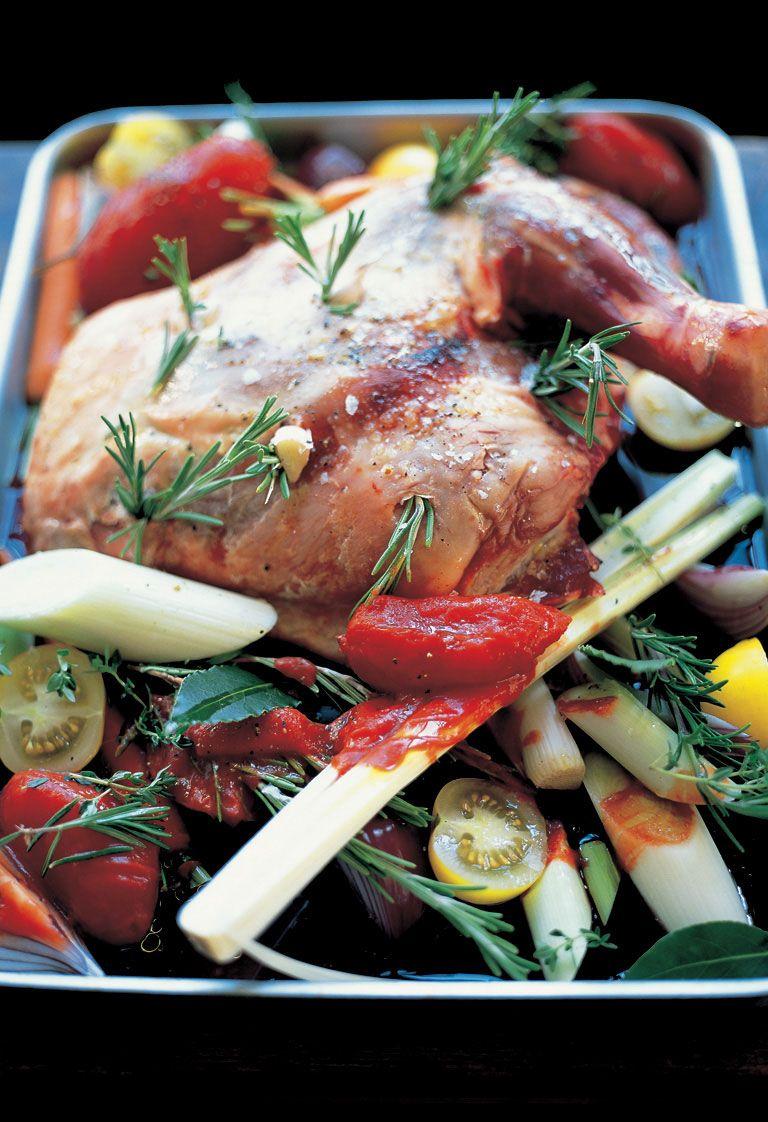 Slowcooked Shoulder Of Lamb With Roasted Vegetables  Jamie Oliver  Food   Jamie