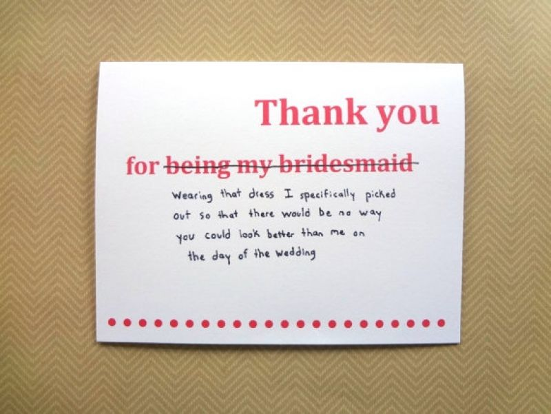 Famousipod Berbagi Informasi Tentang Pertanian Funny Thank You Thank You Card Wording Bridesmaid Thank You