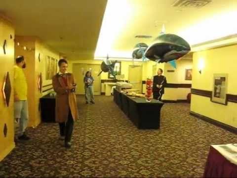 Futurecon 2011 - 2012 Doctor Who Shark Race