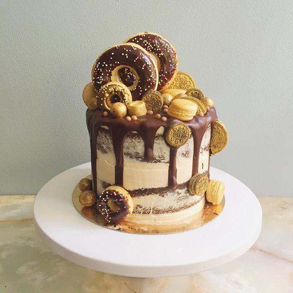 GhettoRiche Salted Caramel Chocolate Cake Birthday cakes Cake