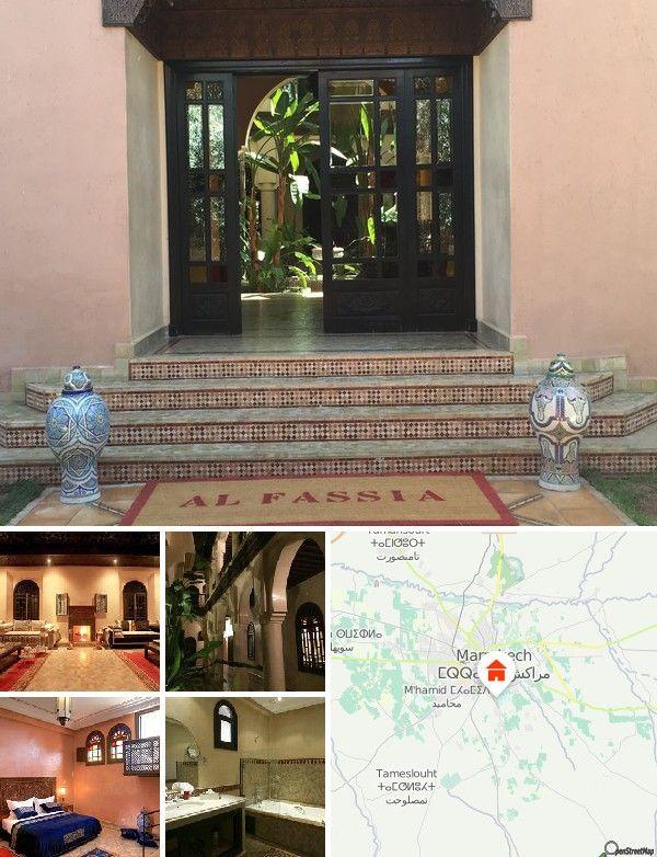 O hotel localiza-se no quilómetro 9 da Rota de Ouarzazate. Rodeado por oliveiras e palmeiras, este estabelecimento íntimo localiza-se a cerca de 20 minutos de viagem do centro da cidade de Marraquexe. Até ao aeroporto de Marraquexe-Menara são aproximadamente 6 km.