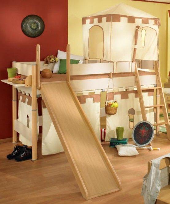 interior design Camas para niños muy divertidas recamaras Pinterest