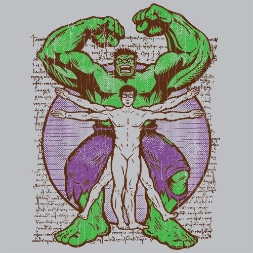 Vitruvian Hulk