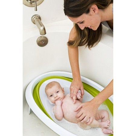 Boon Naked 2-Position Collapsible Baby Bathtub : Target | Baby ...