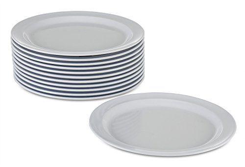 New Melamine Plates Dinnerware Set 12 Pack Kitchenware Dinner Plates Set 9-inch  sc 1 st  Pinterest & New Melamine Plates Dinnerware Set 12 Pack Kitchenware Dinner ...