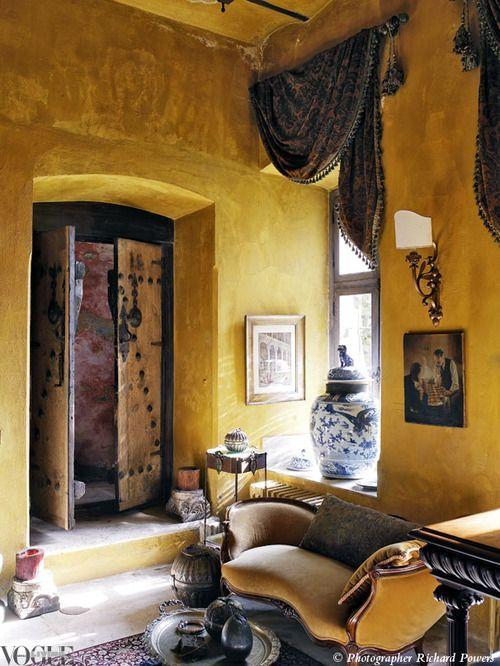 Interior Designer Zeynep Fadıllıoglu's Istanbul house.