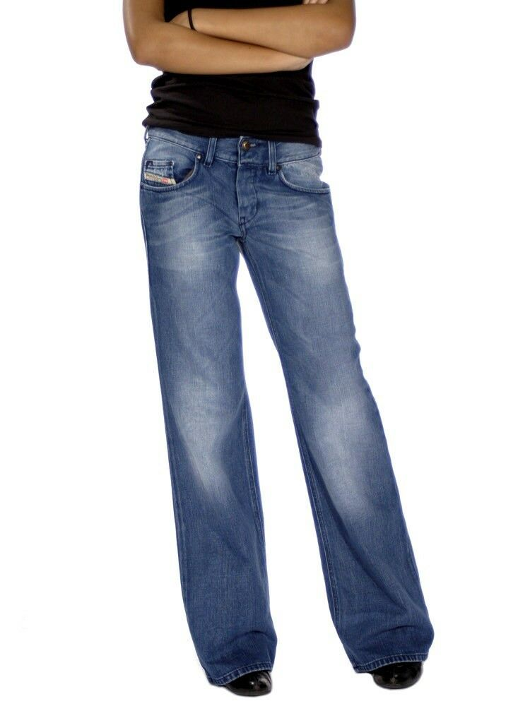f769602e7 NEW DIESEL VIXY 008LB Fluid Flare JEANS womens size W27 L32 uk 10 32