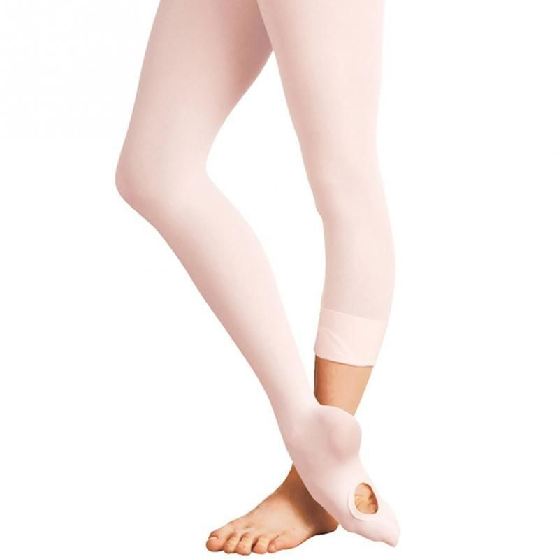 Kids Adult Convertible Tights Dance Stocking Footed Socks Ballet Pantyhose HOT