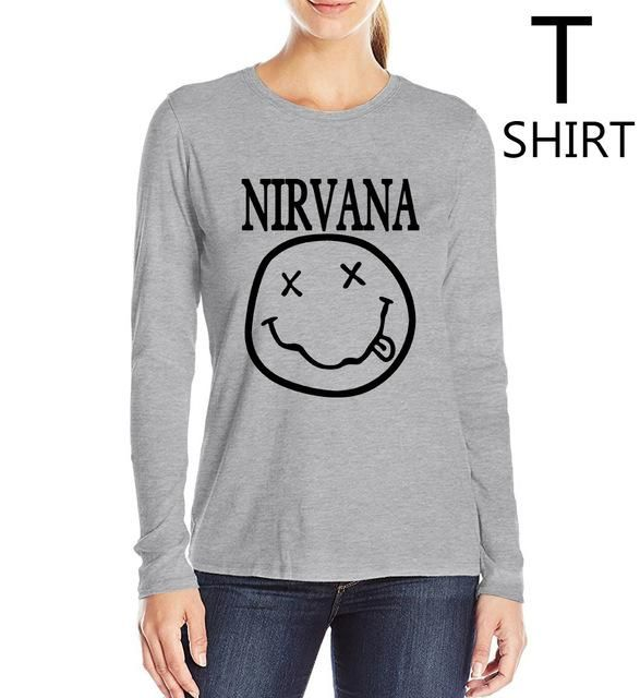 526567e31 Smiley Face camisetas mujer 2017 women t-shirt fashion harajuku brand  clothing long sleeve cotton tee shirt femme summer