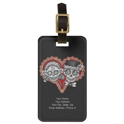 >>>The best place          Sugar Skull Couple Luggage Tag - Customize it!           Sugar Skull Couple Luggage Tag - Customize it! lowest price for you. In addition you can compare price with another store and read helpful reviews. BuyHow to          Sugar Skull Couple Luggage Tag - Customi...Cleck Hot Deals >>> http://www.zazzle.com/sugar_skull_couple_luggage_tag_customize_it-256133189532615430?rf=238627982471231924&zbar=1&tc=terrest