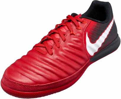 Nike Tiempox Finale Indoor Soccer Shoes University Red Soccer Shoes Soccer Football Cleats For Sale
