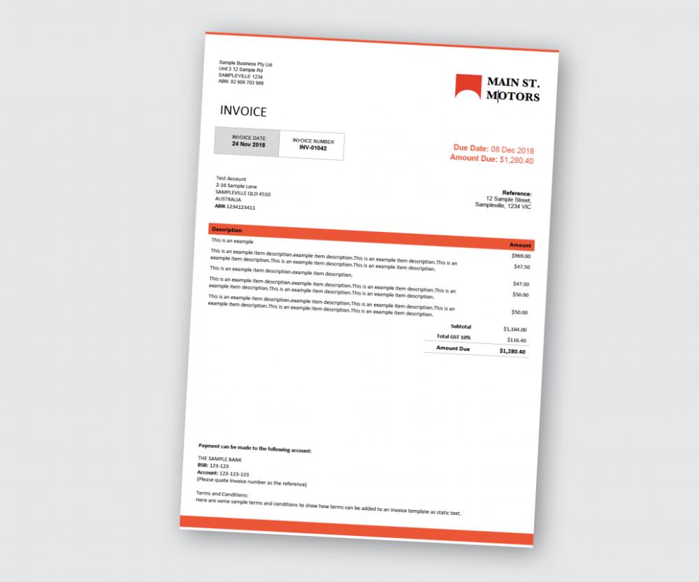 Custom Designed Docx Invoice Invoice Template Invoice Design Template Template Design