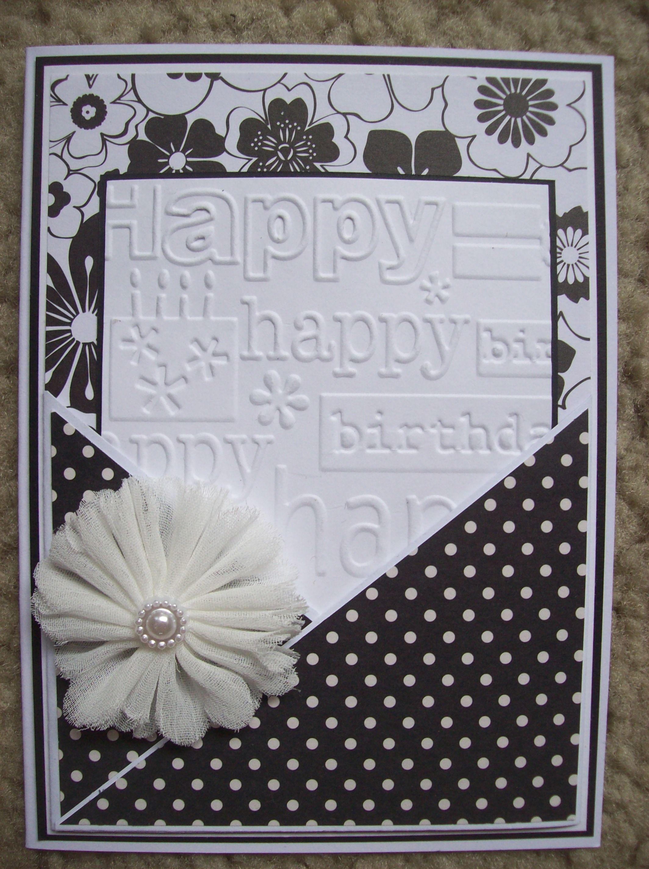 Happy Birthday Scrapbook Com Card Ideas Pinterest Carte