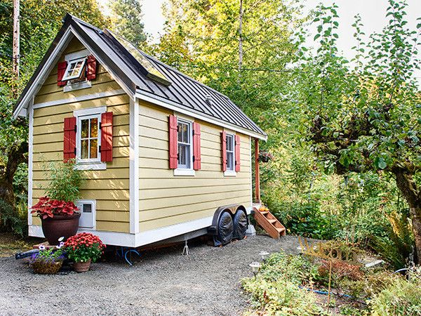 house to go ein minihaus auf r dern tiny house. Black Bedroom Furniture Sets. Home Design Ideas