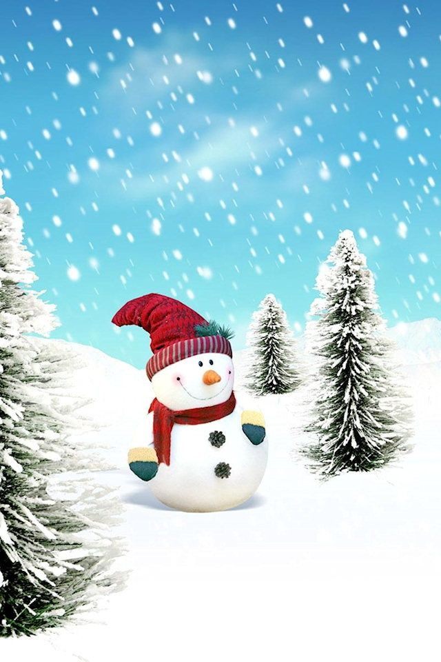 Christmas Has Very Few Days Left People Are Busy Decorating Their House Office Outdo Christmas Phone Wallpaper Wallpaper Iphone Christmas Snowman Wallpaper