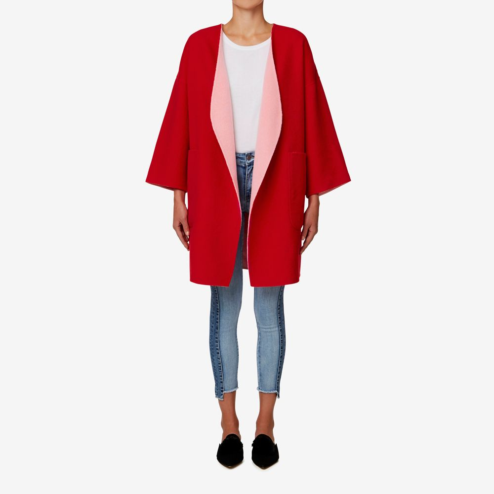 39becca31 Shop now: Reversible Coat. #seedheritage #seed #woman | Shop Now ...