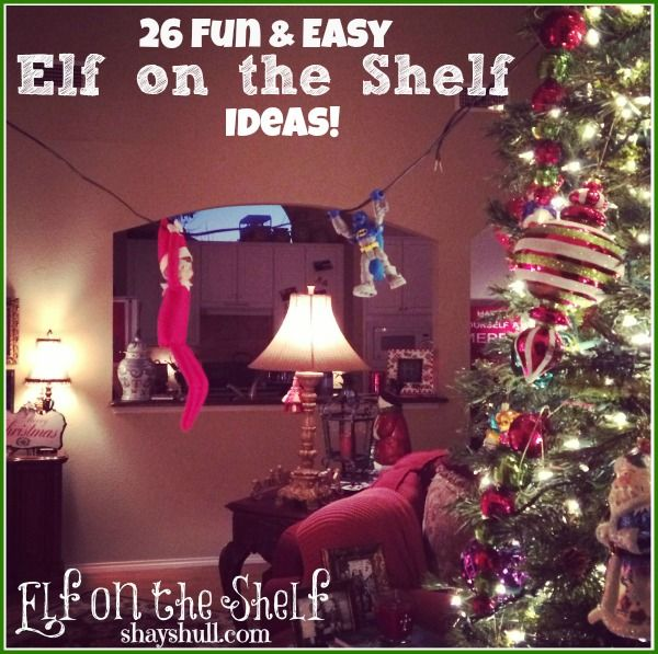 elf on the shelf ideas - Elf On The Shelf Christmas Tradition