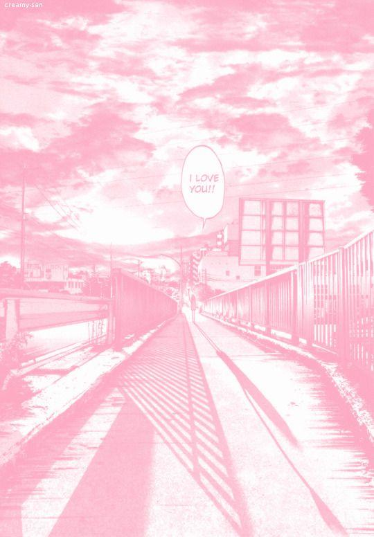 Pink Manga Wallpaper