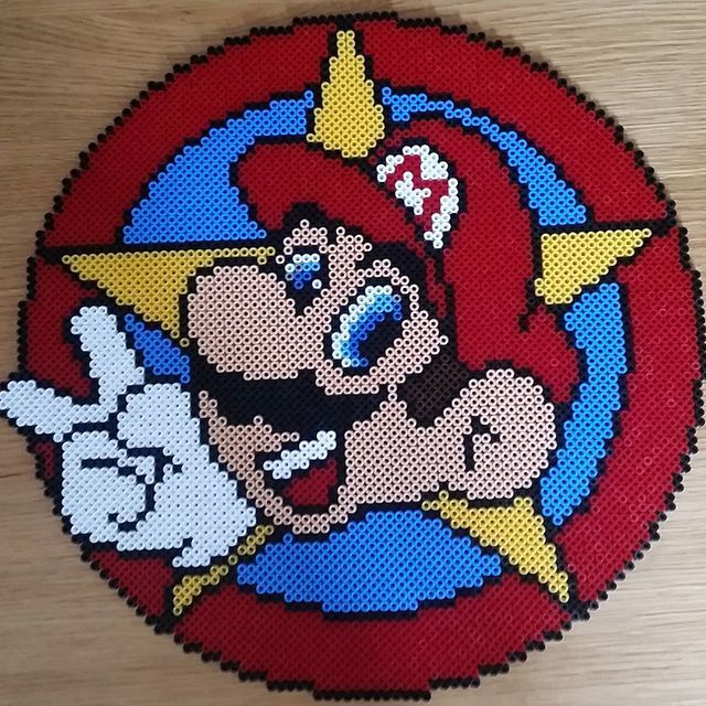 Super Mario perler beads by  iwar83