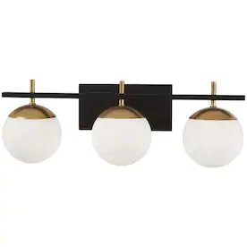 Black Vanity Lights At Lowes Com In 2020 With Images Vanity