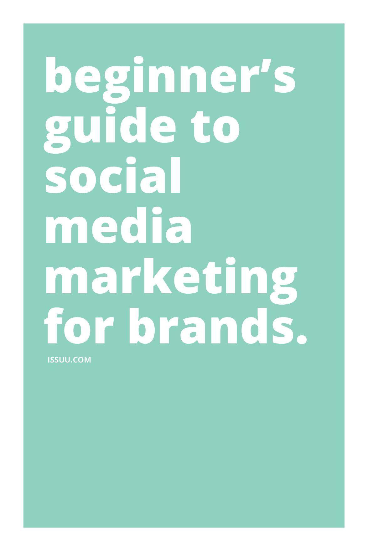 Social Media Marketing Tips For Beginners Social