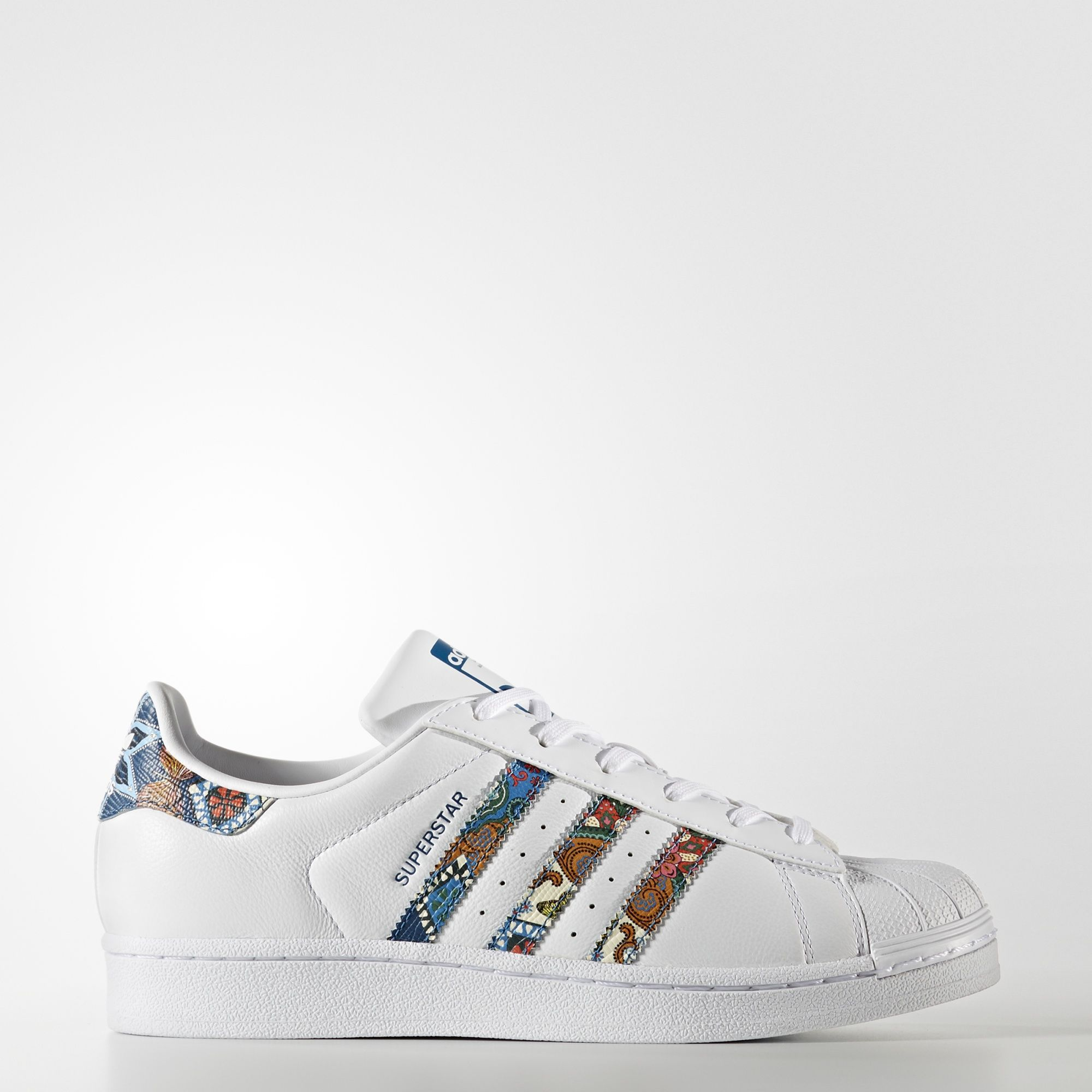 adidas - SUPERSTAR W FTWR WHITE/FTWR WHITE/NOBLE TEAL S10 BY9177