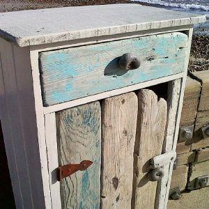 Beach Hut Hooks Set Of Four Driftwood Furniture And