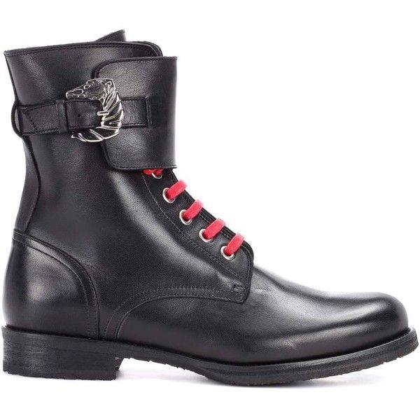 combat boots - Black DORATEYMUR GERni
