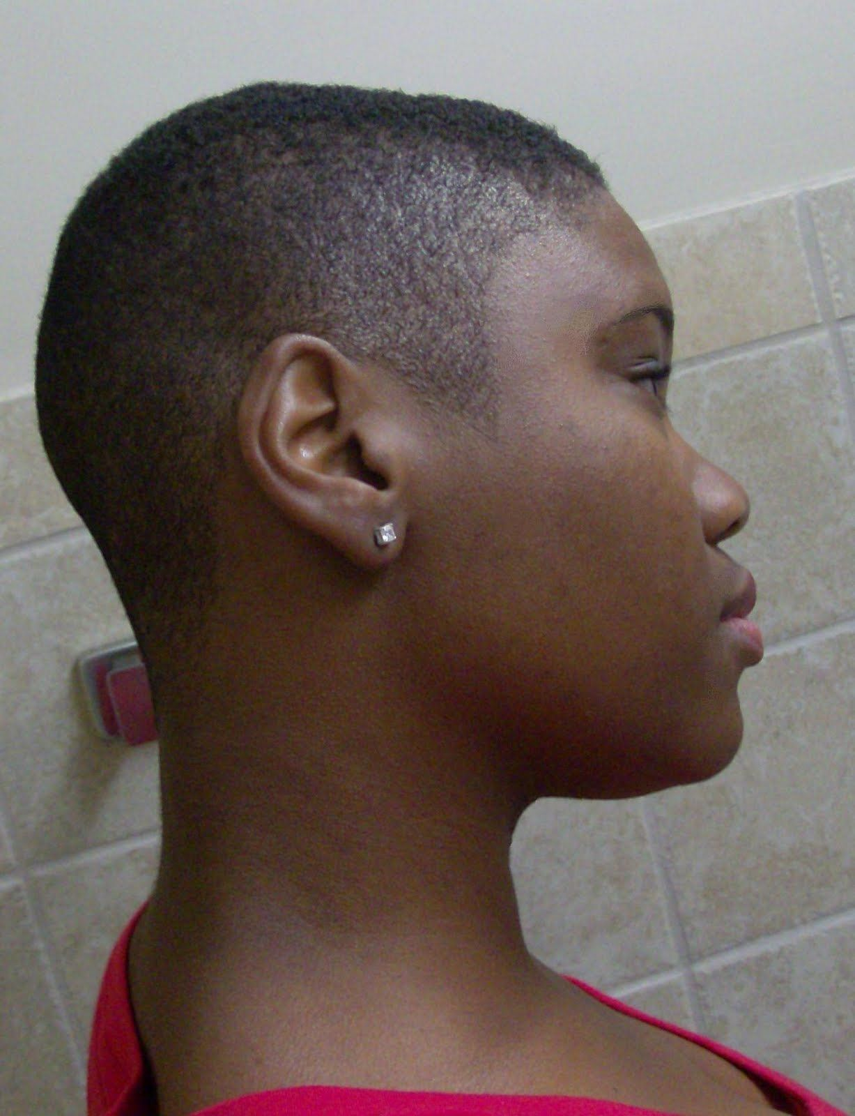 Bald Cuts for Black Women | Fade Hair Cut for Women http ...