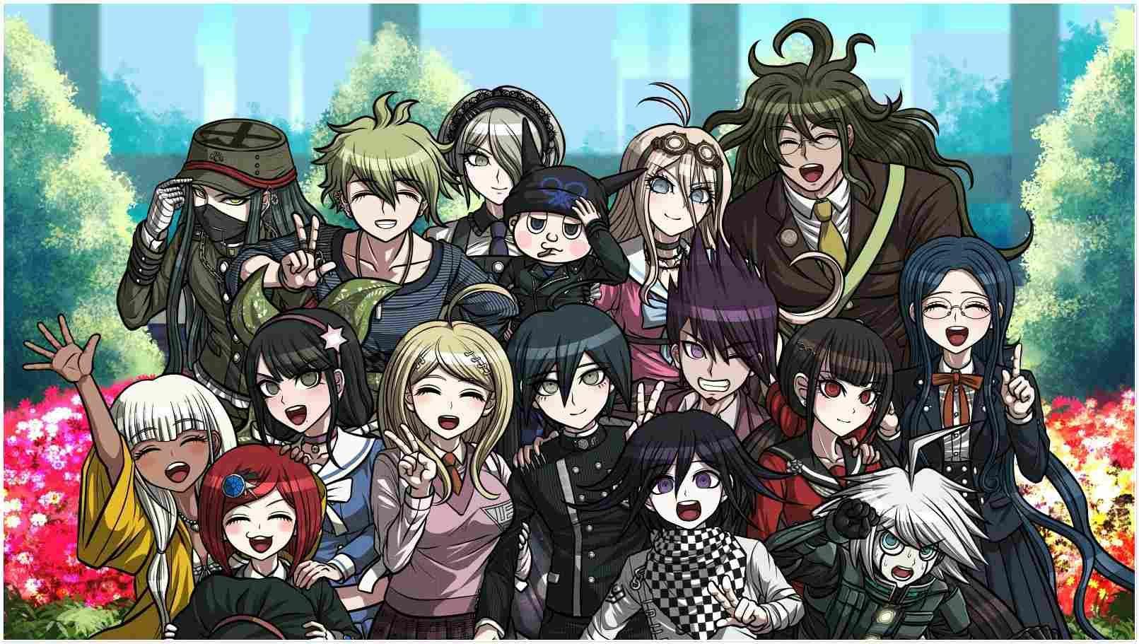 Best Of 13 Danganronpa V3 Wallpapers Danganronpa Danganronpa V3 Anime