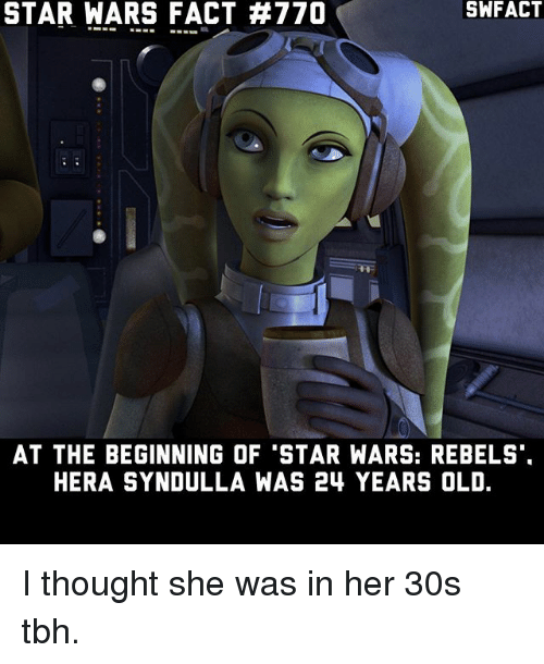 And Kanan Was Probably Anywhere From 26 30 So Yeah They Re All Still Pretty Young Star Wars Facts Star Wars Star Wars Humor