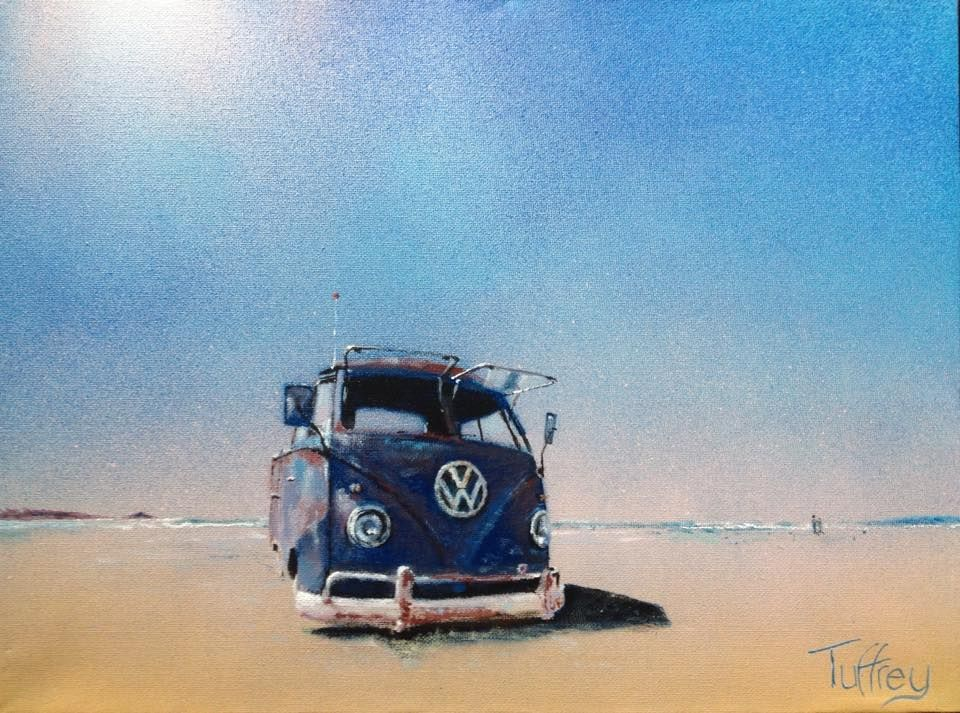 Picture and Copyright owned by Pete Tuffrey Artist - Facebook
