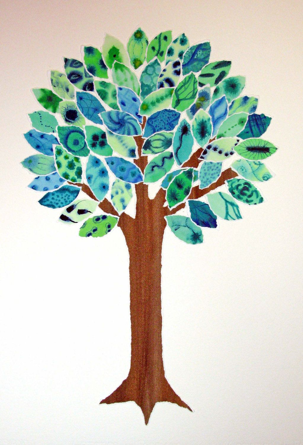 Tree Of Life Watercolor Google Search Dessin Coloriage Arbre