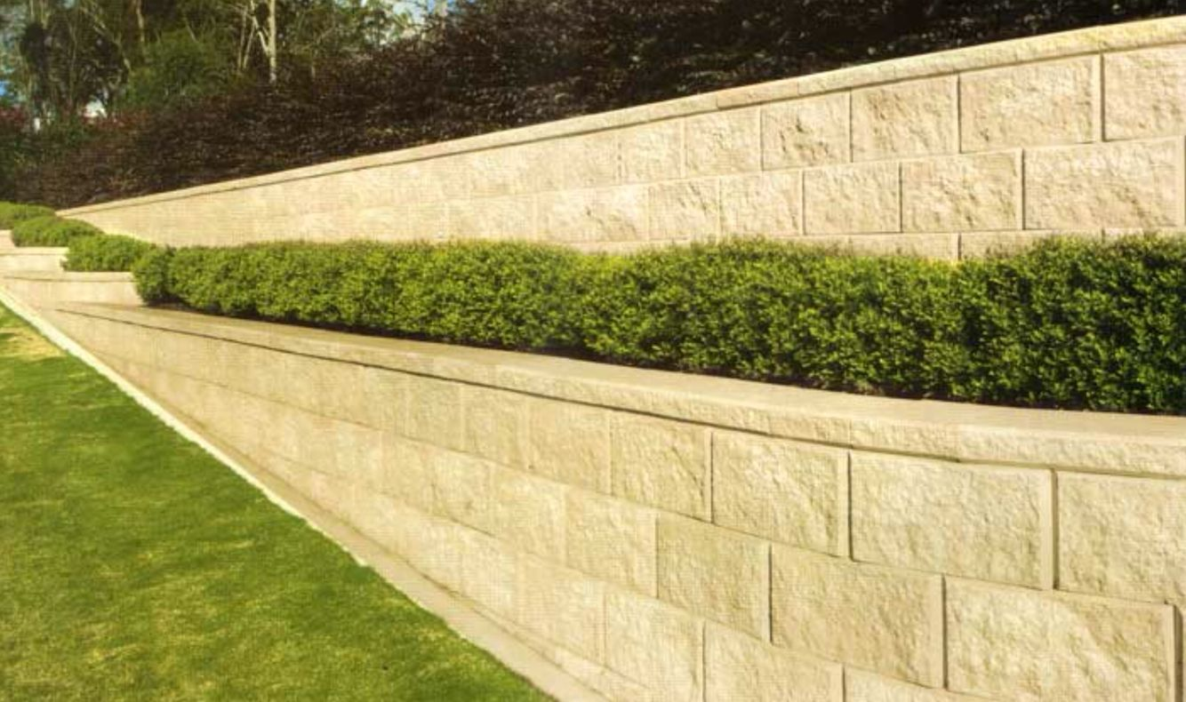 Lovely Driveway Retaining Wall Ideas Images - The Wall Art ...