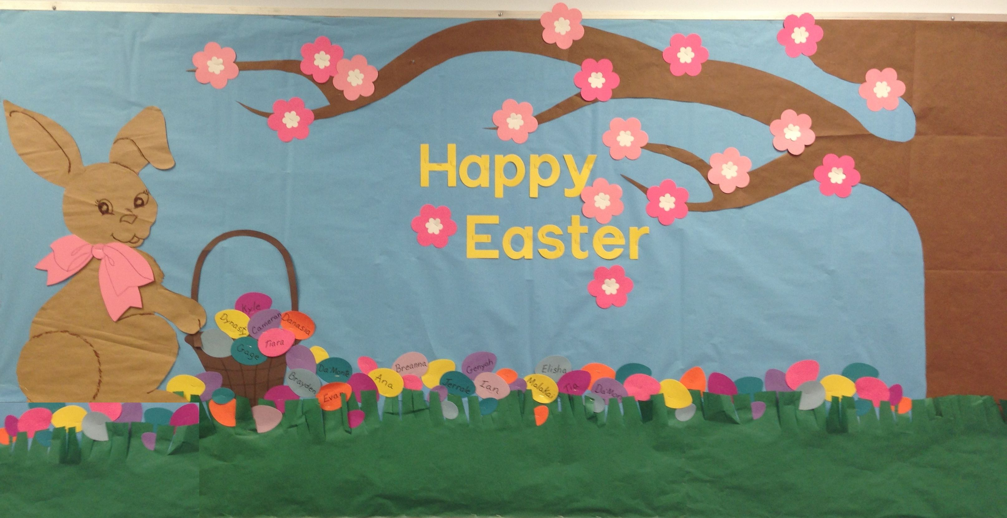 Happy Easter! - Holiday Bulletin Board Idea | Easter ...